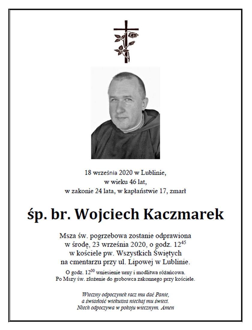 Nie żyje zakonnik z Lublina. Był zakażony koronawirusem