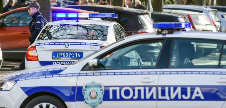 Policija uviđaj Srbija pokrivalica