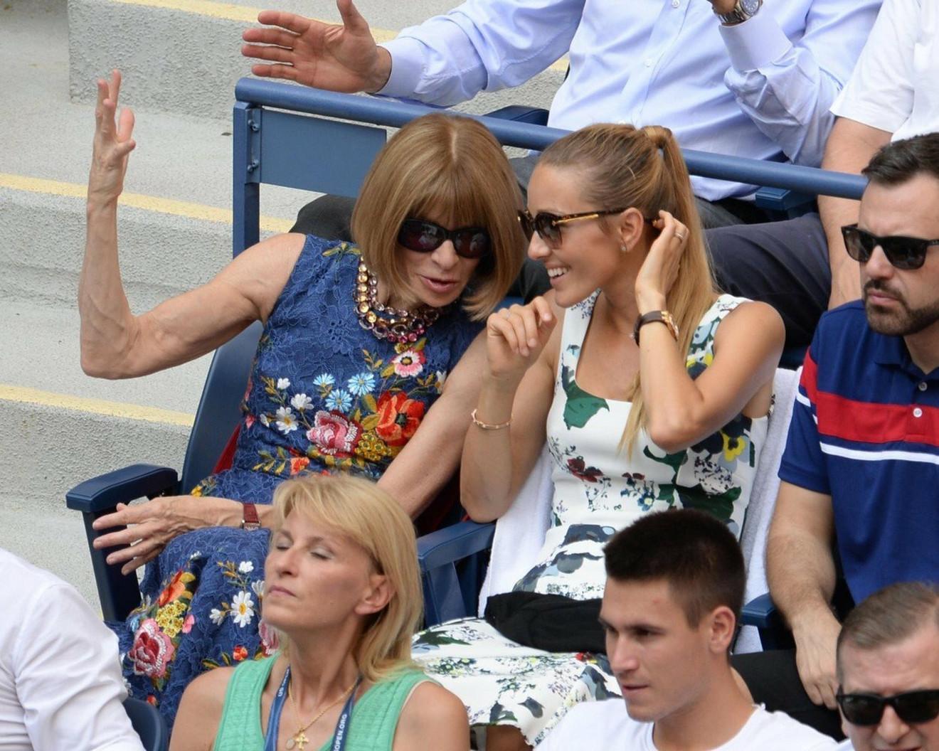 Jelena i Ana Vintur na US Open-u 2016.