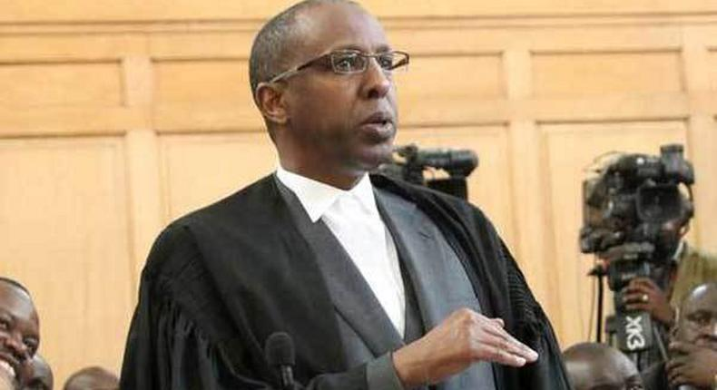 Supreme Court judge Mohammed Ibrahim exposes whatsapp message he received from Ahmednasir, just before ruling in Wajir case