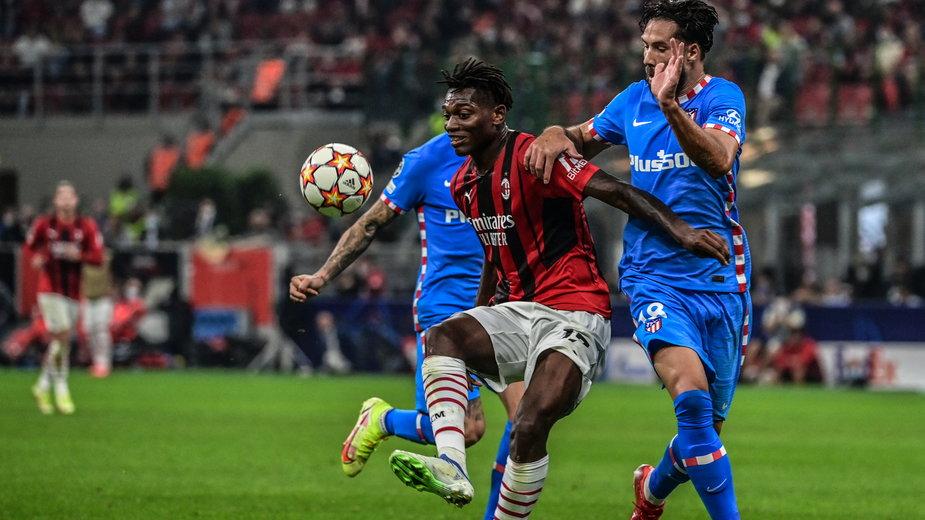 Bramka Rafaela Leao długo dawała Milanowi prowadzenie w starciu z Atletico
