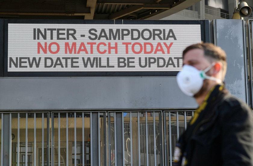 AC Milan v Genoa Match Postponed