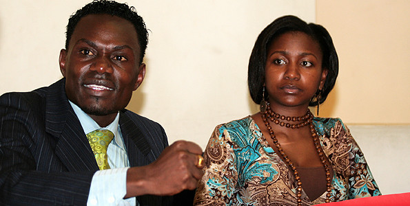 Esther Arunga and Hellon Joseph