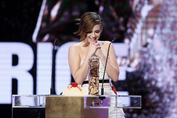 Amerykańska aktorka Kristen Stewart odbiera Cezara