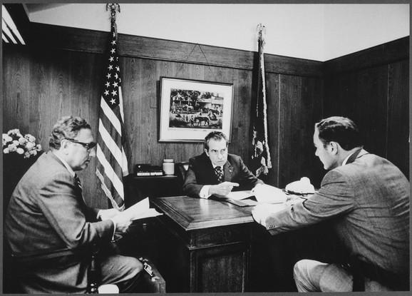 Henri Kisindžer i Ričard Nikson