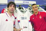 Bogdan Bogdanović i Miloš Teodosić