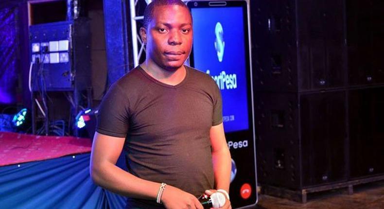 Sportpesa Mega Jackpot Winner Samuel Abisai.