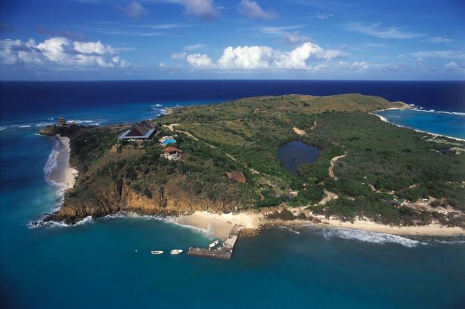 Ostrvo koje je u posedu Ričarda Brensona