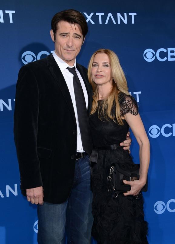Goran Višnjić sa suprugom