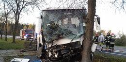 Wypadek autokaru z weselnikami. 17 osób w szpitalu!