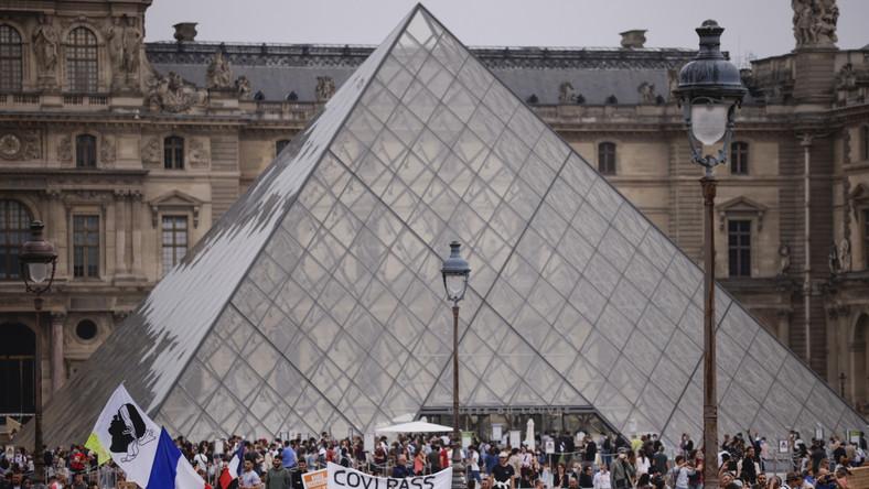 Antyszczepionkowy protest we Francji