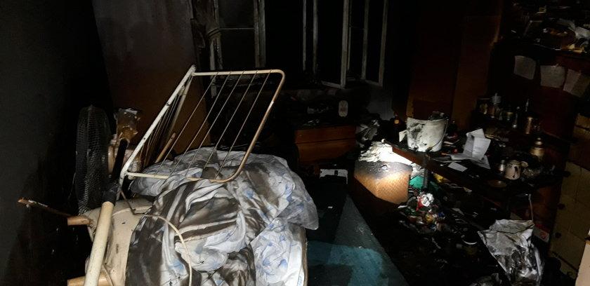 Tragiczny pożar we Wrocławiu. Nie żyją cztery osoby