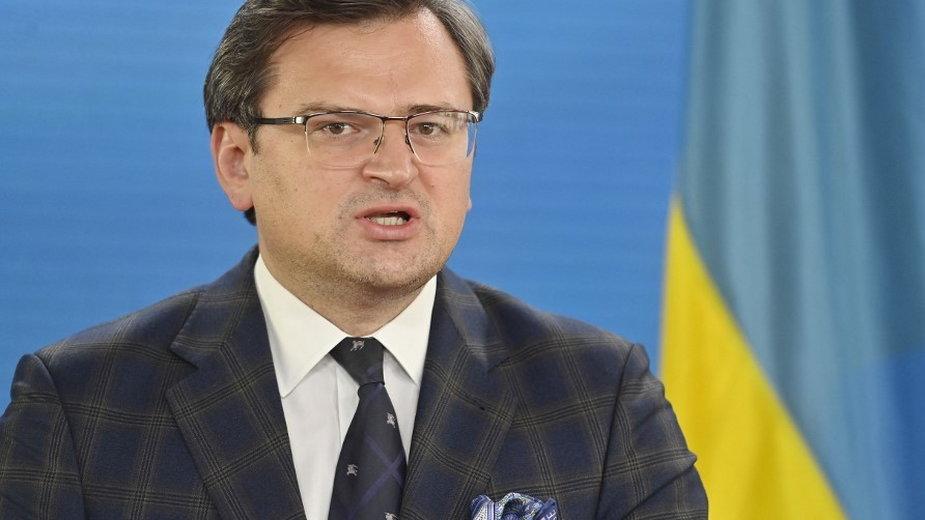 Dmytro Kuleba, minister spraw zagranicznych Ukrainy