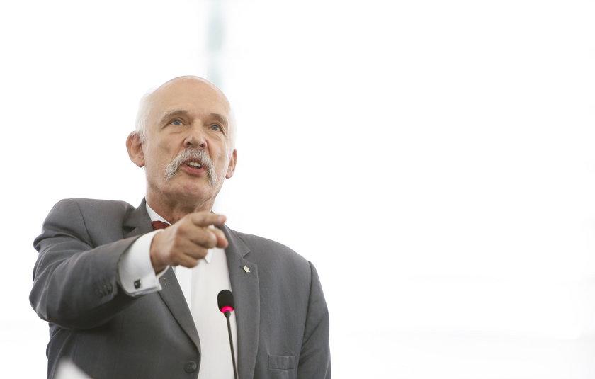 Surowa kara dla Korwin-Mikkego za uwagi na temat kobiet. Brawa w europarlamencie!
