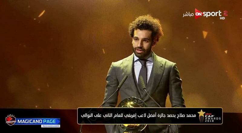 Salah retains African Player of the Year title