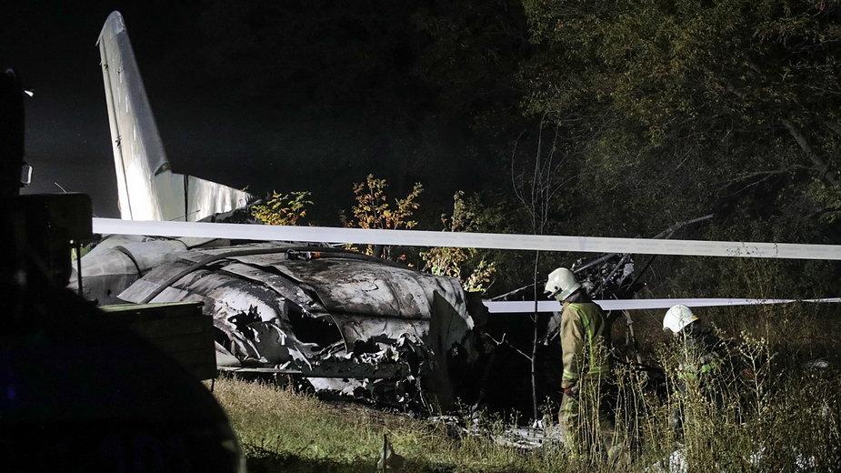 Podczas lotu załoga poinformowała o awarii lewego silnika, poprosiła o zgodę na lądowanie