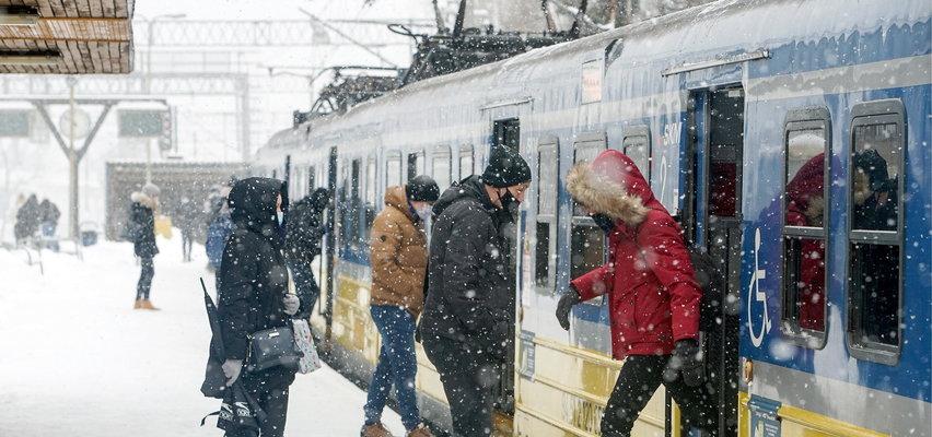 Popadało, powiało, zmroziło. Ale zasypało! Tylko w Gdańsku spadło co najmniej 30 centymetrów śniegu