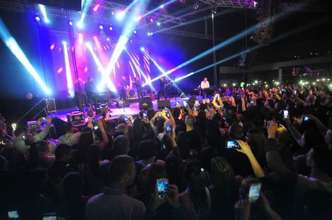 Atmosfera na koncertu Marije Šerifović