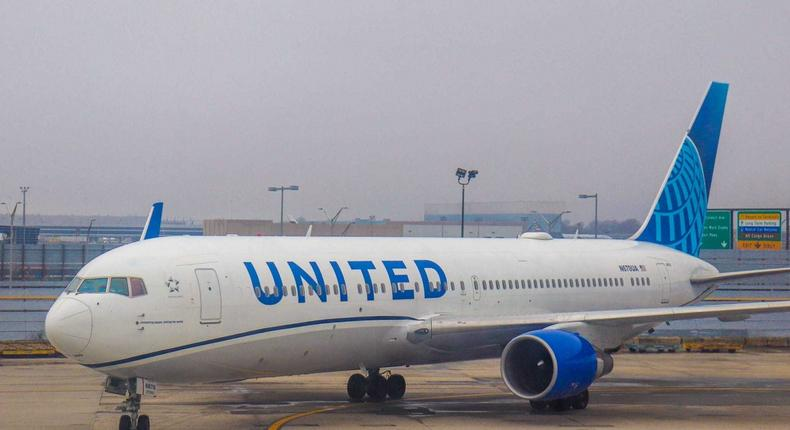 The fine imposed on United was the largest of its kind, according to the Transportation Department.
