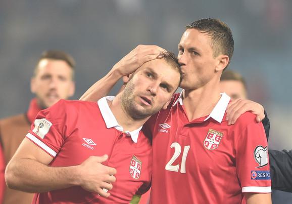 Branislav Ivanović i Nemanja Matić