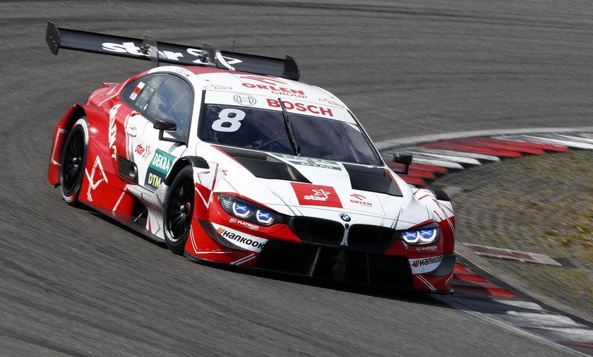 Robert Kubica ostatni na torze Lausitzring
