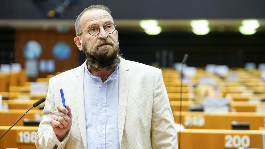 József Szájer (na zdjęciu) został przyłapany na nielegalnym seksparty w Brukseli