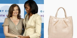 Wkupiła się w łaski Obamy... torebką