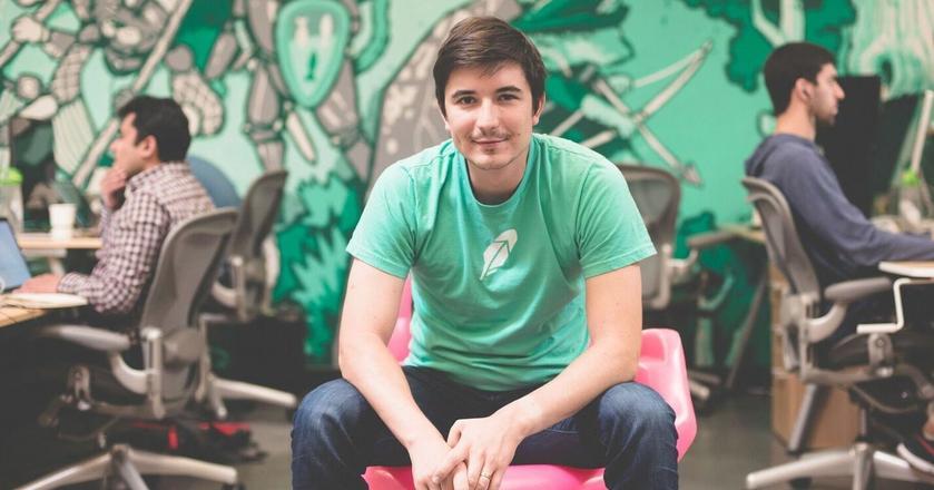 Vlad Tenev, współzałożyciel Robinhooda