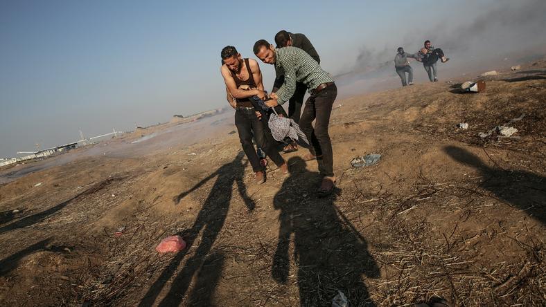 Strefa Gazy Picture: Strefa Gazy: żałoba, Pogrzeby I Kolejne Ofiary Wśród