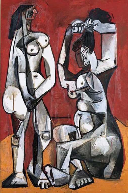 "Picasso ""Women on their toilettes"""