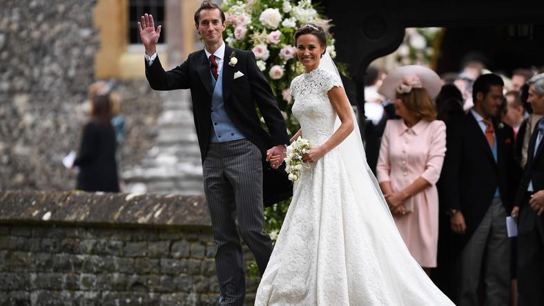 Pippa Middleton wzięła ślub