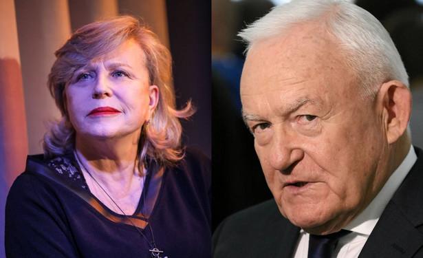 Krystyna Janda i Leszek Miller