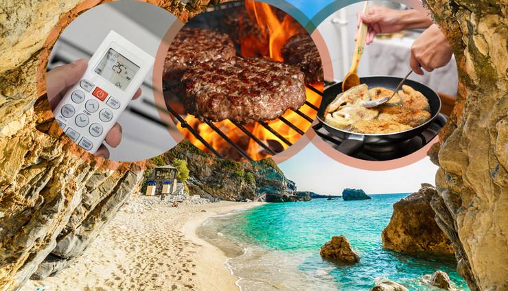 grčka hrana, aprtamni, kombo