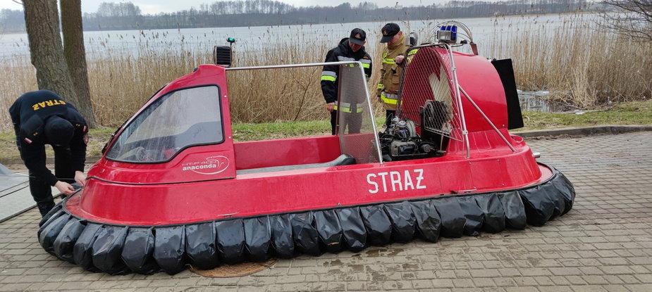 Pierwszy w Województwie Zachodniopomorskim poduszkowiec trafi na wyposażenie drawskich strażaków