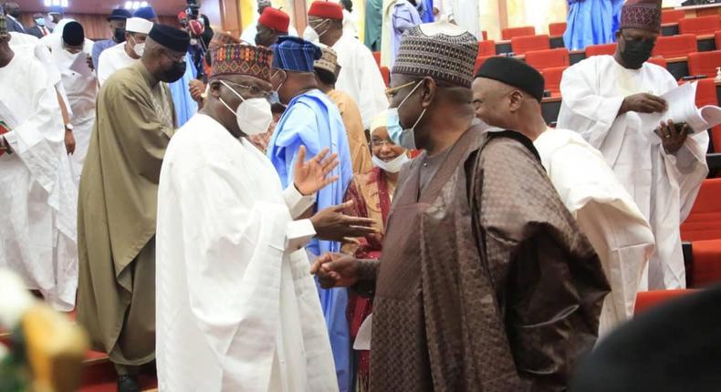 Nigerian senators [NASS]