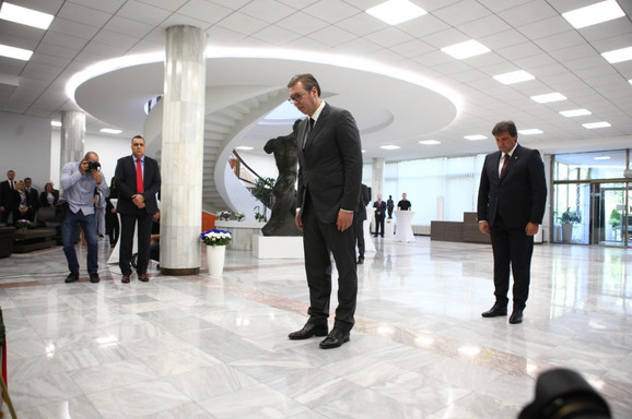Aleksandar Vučić i Bratislav Gašić
