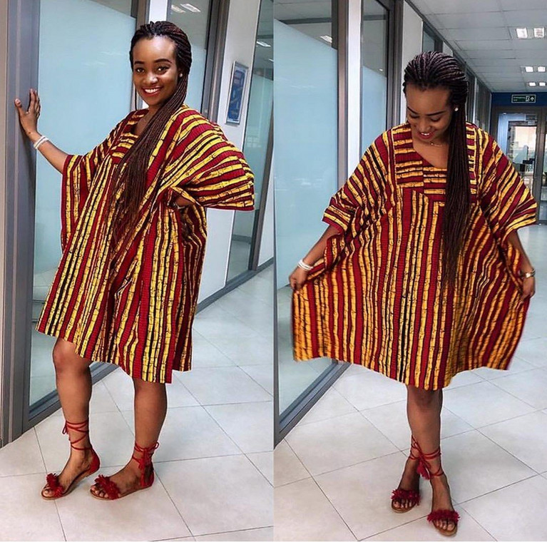 Must-have agbada ankara gowns styles for fashionable ladies  [Source: Ankarafashion.com]