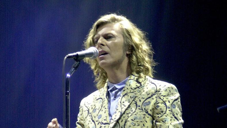 David Bowie na festiwalu Glastonbury, rok 2000