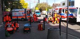Groźny wypadek w Warszawie. Trzy osoby ranne
