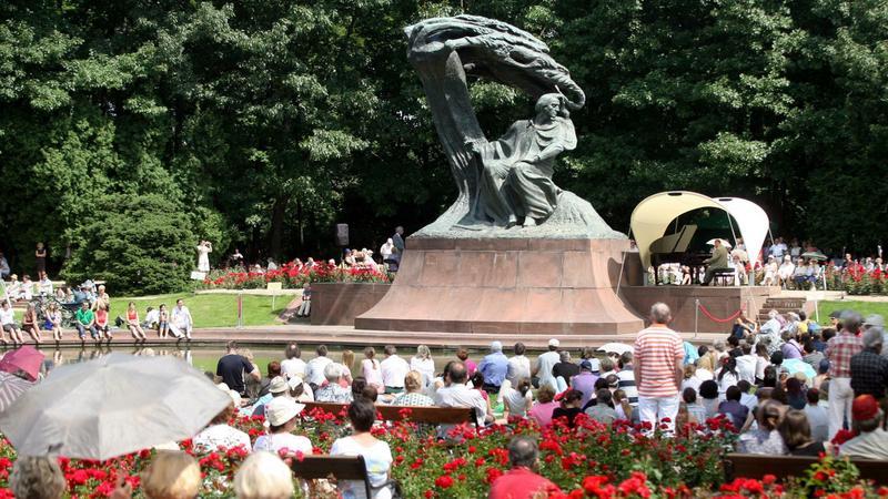 Koncert Chopinowskich w Łazienkach Królewskich