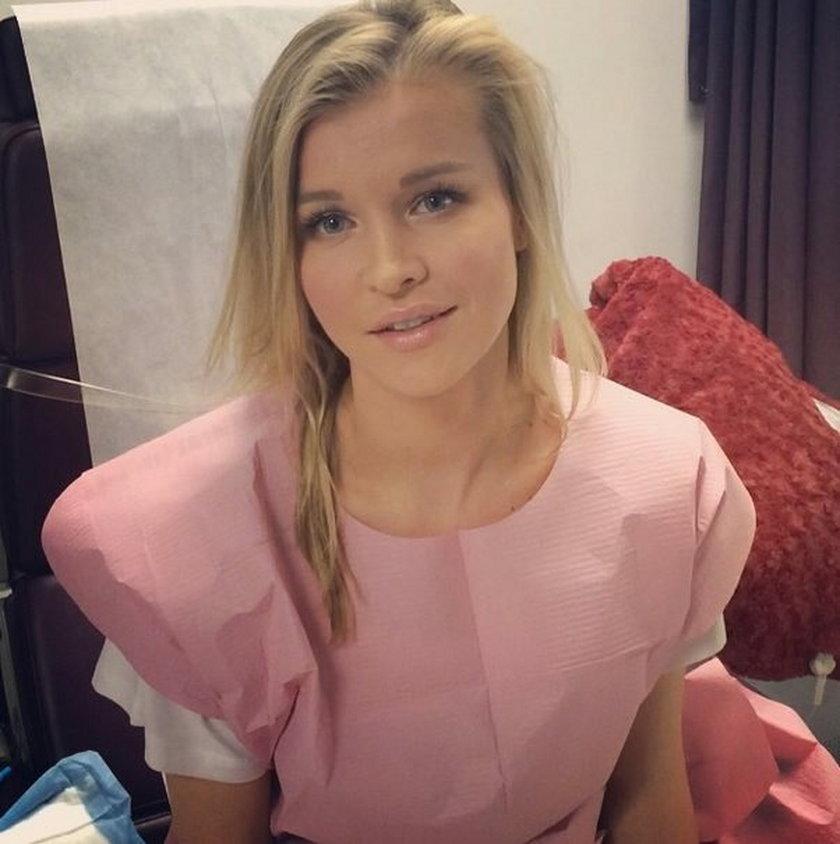 Joanna Krupa w szpitalu