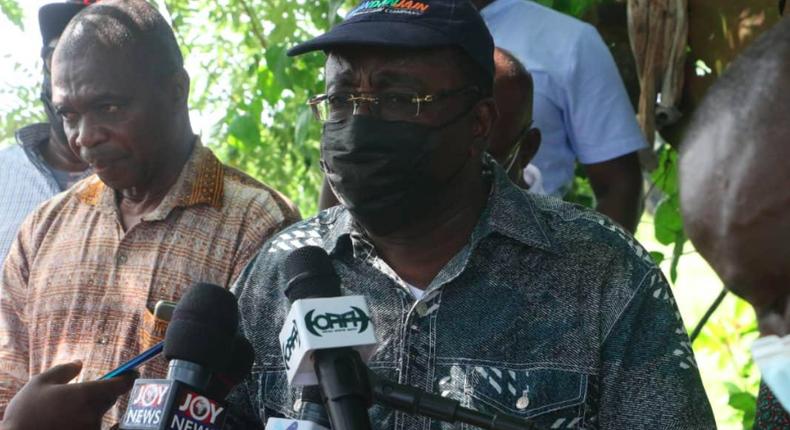 Agric Minister, Dr Owusu Afriyie Akoto