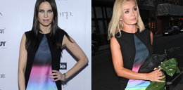Dwie celebrytki założyły taką samą sukienkę
