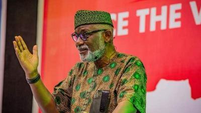 'You're a disgrace to public decency,' Akeredolu slams Makinde for raising false alarm over Ondo election