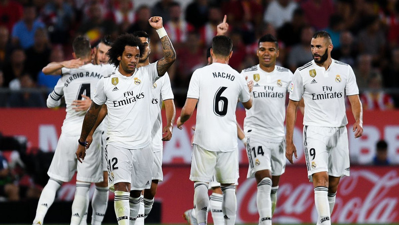 Real Madrid team (dailypost)