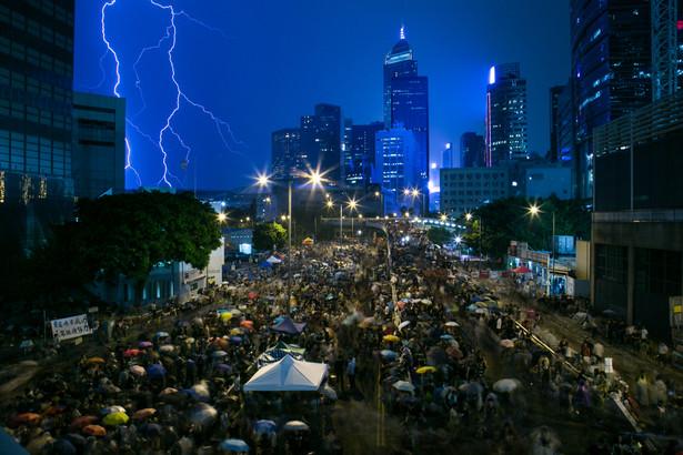 Prodemokratyczne protesty w Hongkongu