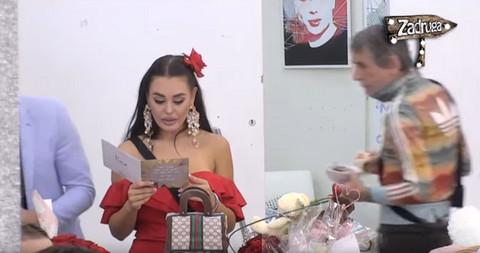 Stigao POKLON Filipa Mijatova u Zadrugu: Evo kako je Ana Korać REAGOVALA! Video