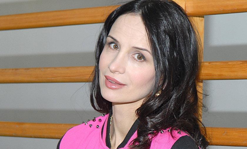 Viola Kołakowska w 3 tygodnie po porodzie