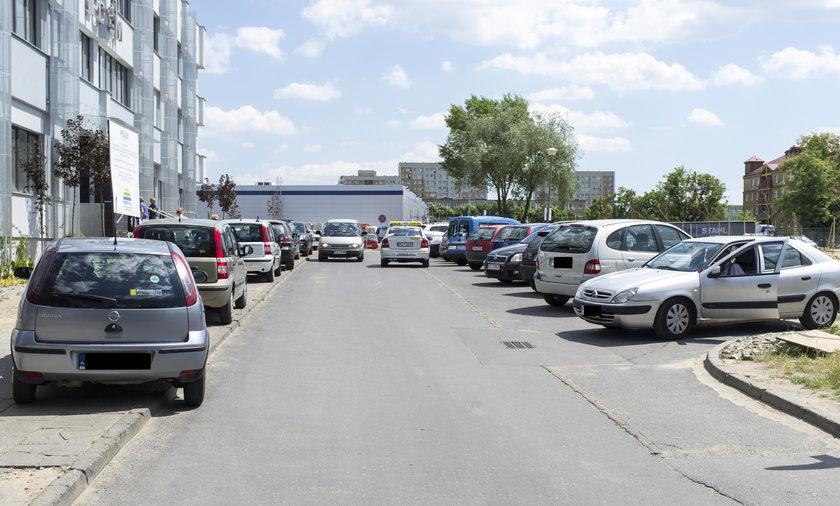 Budowa parkingu