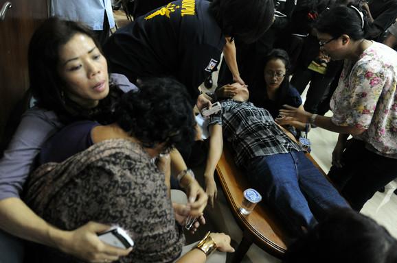 Tuga porodica indonežanskih putnika